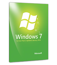 Windows 7 SP1 Updated January 2018